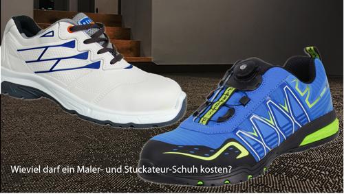 Maler-Schuhe